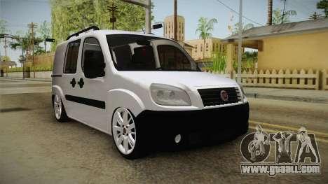Fiat Doblo 2008 for GTA San Andreas
