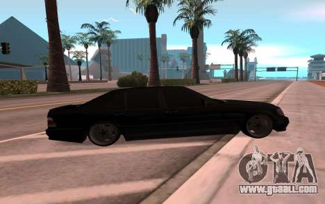 Mercedes-Benz 63S Brabus for GTA San Andreas left view
