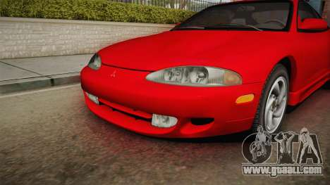 Mitsubishi Eclipse GSX 1995 Dirt IVF for GTA San Andreas inner view