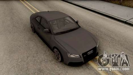Audi RS5 for GTA San Andreas right view