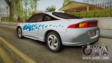 Mitsubishi Eclipse GSX 1995 Dirt IVF for GTA San Andreas