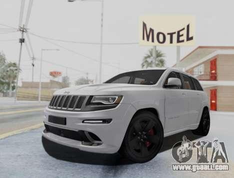 Jeep Grand Cherokee SRT 8 for GTA San Andreas