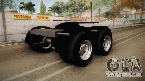 Double Trailer Livestock v2 for GTA San Andreas left view