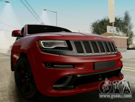 Jeep Grand Cherokee SRT 8 for GTA San Andreas back left view