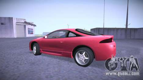 Mitsubishi Eclipse GSX for GTA San Andreas left view