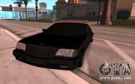 Mercedes-Benz 63S Brabus for GTA San Andreas right view
