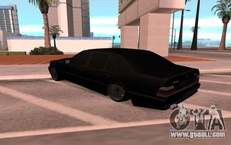 Mercedes-Benz 63S Brabus for GTA San Andreas back left view