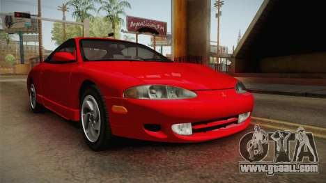 Mitsubishi Eclipse GSX 1995 Dirt IVF for GTA San Andreas right view