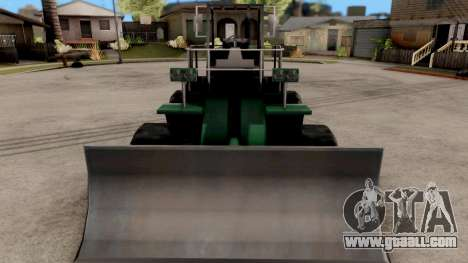 Paintable Dozer for GTA San Andreas inner view