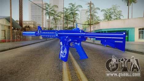 Dark Blue Weapon 2 for GTA San Andreas second screenshot