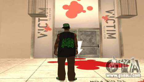 New Grove Street Pack for GTA San Andreas second screenshot