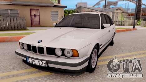 BMW 5-er E34 Touring Stock for GTA San Andreas