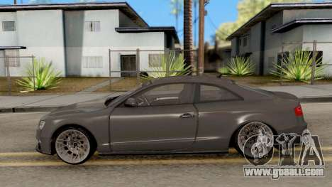 Audi RS5 for GTA San Andreas left view