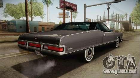 Mercury Marquis 2dr 1971 for GTA San Andreas