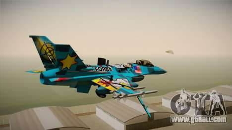 FNAF Air Force Hydra Mike for GTA San Andreas right view