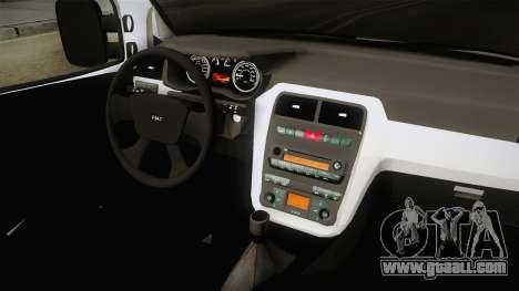 Fiat Doblo 2008 for GTA San Andreas inner view