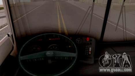 LiAZ-6212 for GTA San Andreas inner view