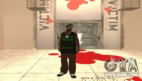 New Grove Street Pack for GTA San Andreas