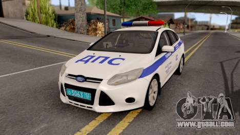 Ford Focus 3 Russisan Police for GTA San Andreas