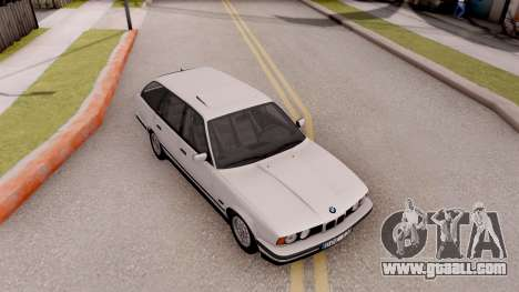 BMW 5-er E34 Touring Stock for GTA San Andreas right view