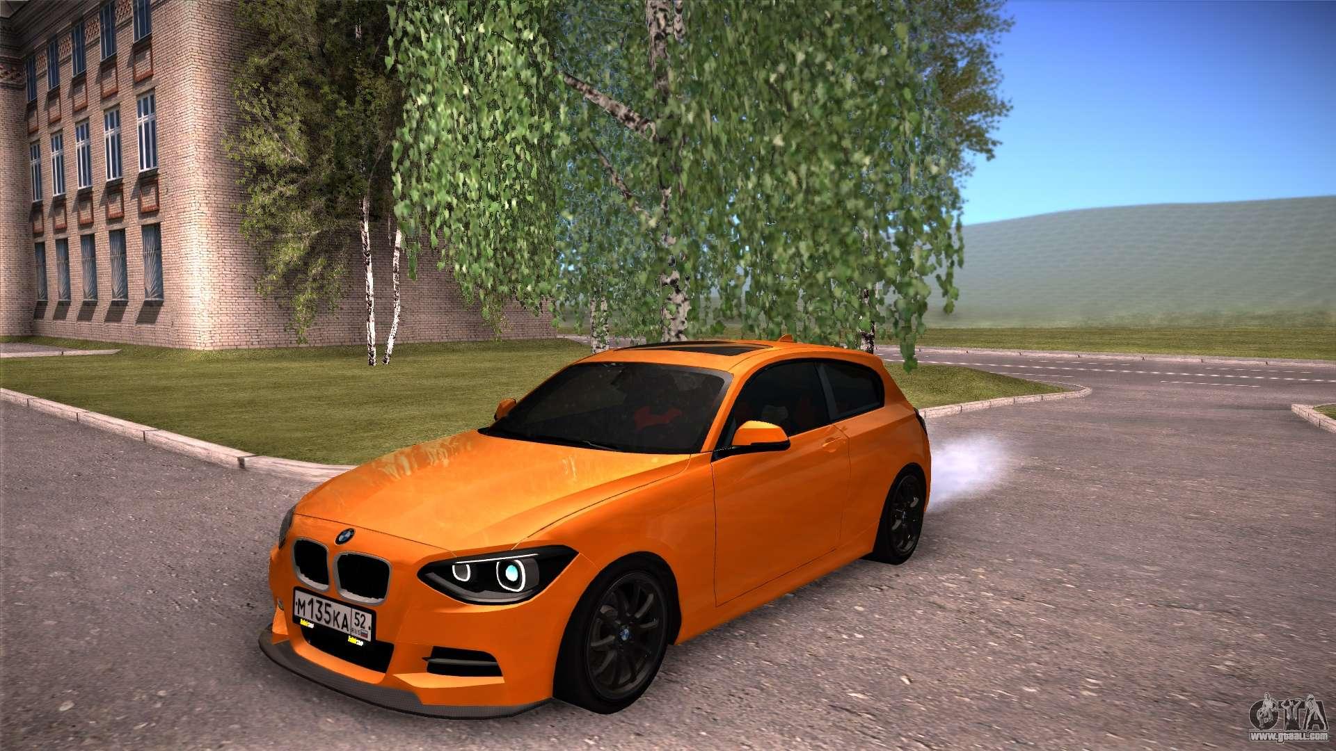 Bmw M1 2017 >> BMW M1 135i for GTA San Andreas