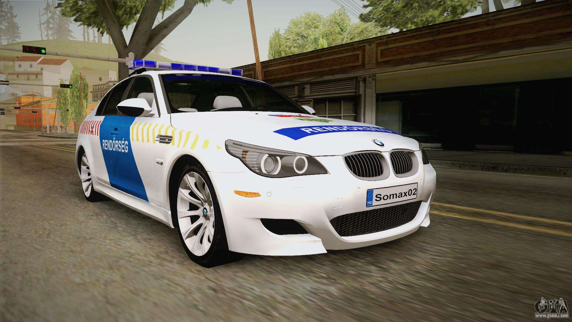 bmw m5 e60 hungary police for gta san andreas. Black Bedroom Furniture Sets. Home Design Ideas