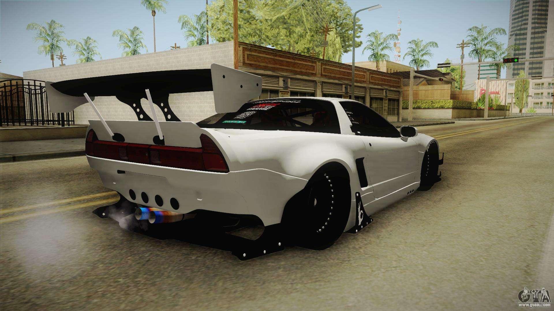 Honda Nsx R Rocket Bunny For Gta San Andreas