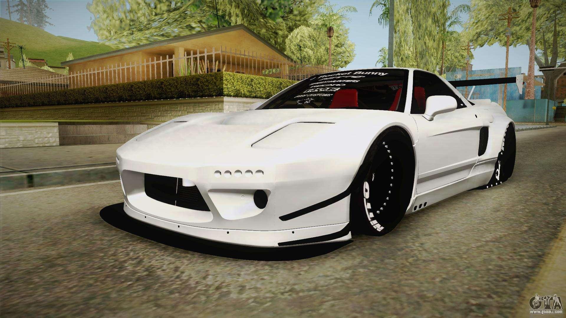 Cleo Bay Honda >> Honda NSX-R Rocket Bunny for GTA San Andreas