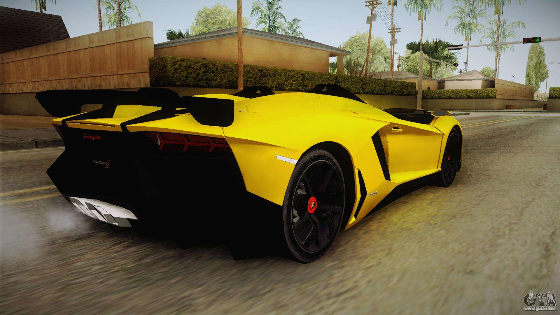 lamborghini aventador j for gta san andreas. Black Bedroom Furniture Sets. Home Design Ideas