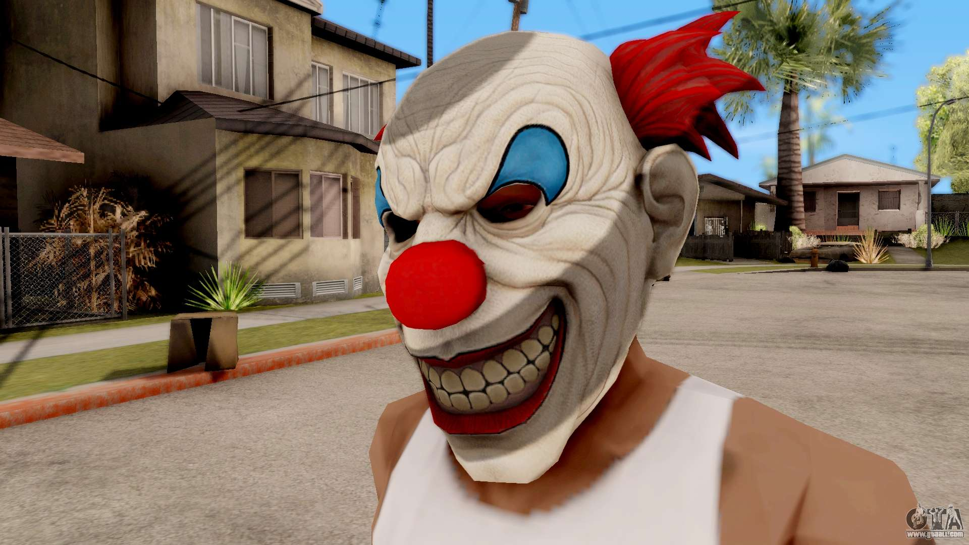 All Christmas Masks Gta Online.Mask Evil Clown For Gta San Andreas