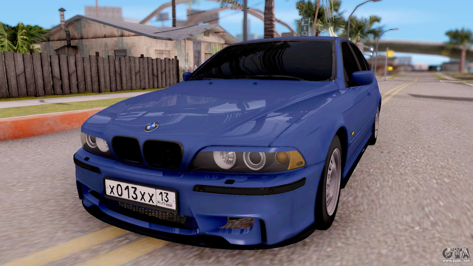 bmw m5 e39 for gta san andreas. Black Bedroom Furniture Sets. Home Design Ideas