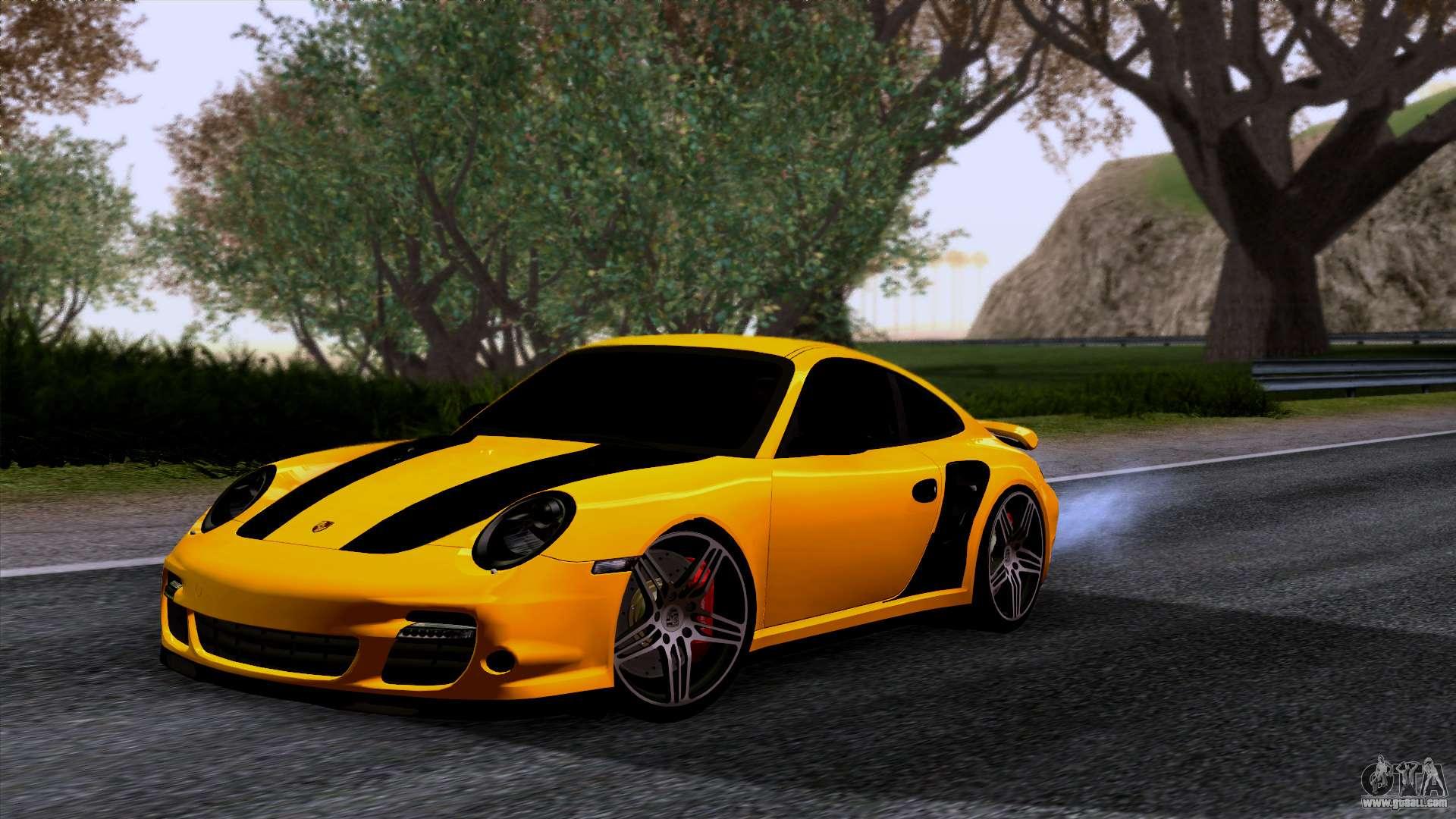 porsche 911 turbo 2007 for gta san andreas. Black Bedroom Furniture Sets. Home Design Ideas