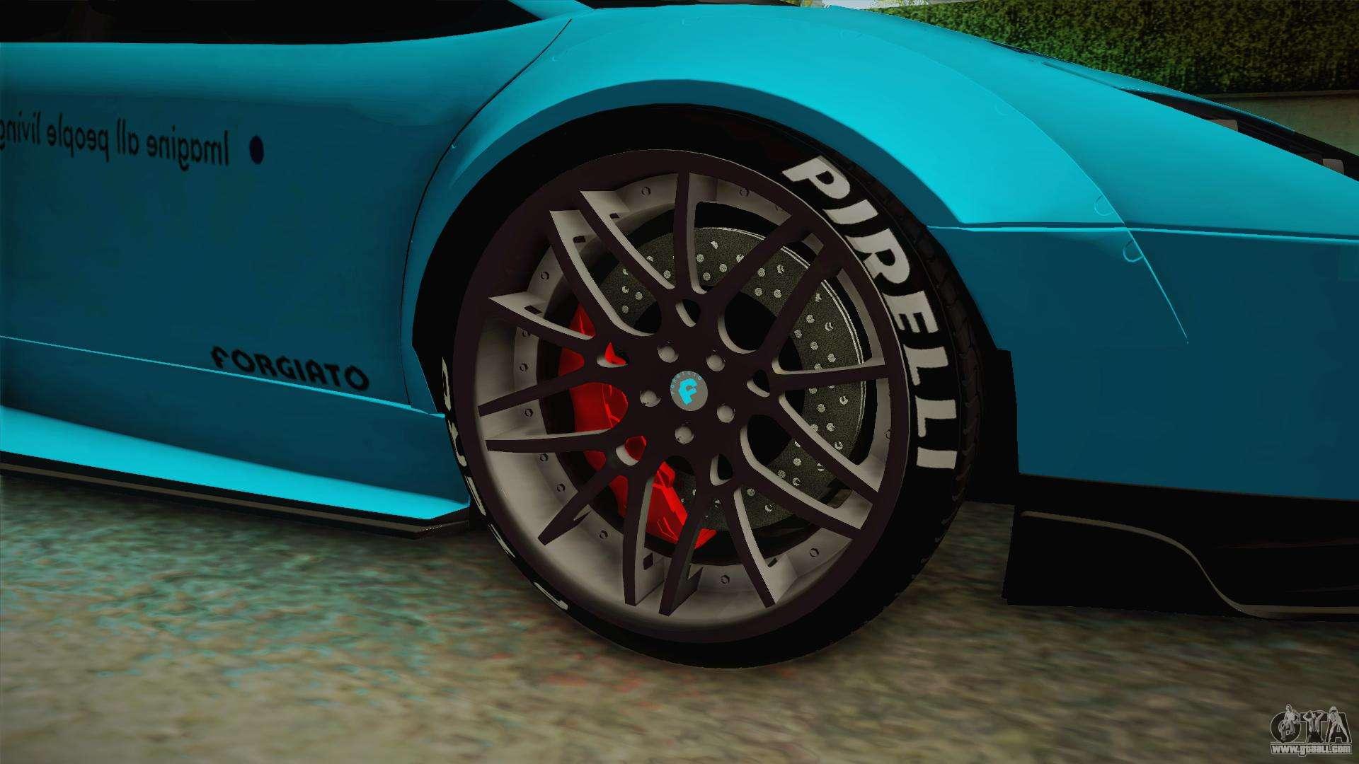 Lamborghini Murcielago Lp670 4 Sv Liberty Walk For Gta San Andreas