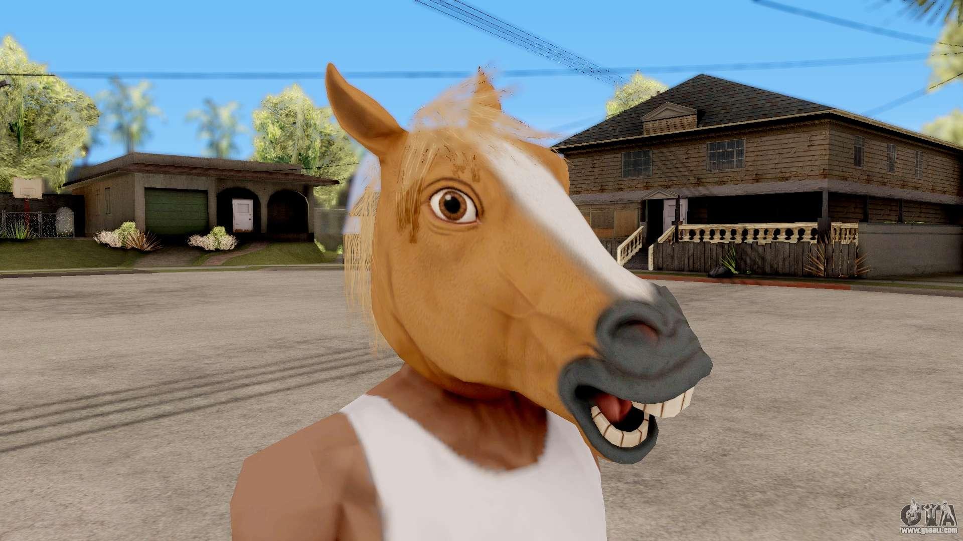 Mask Horse for GTA San Andreas
