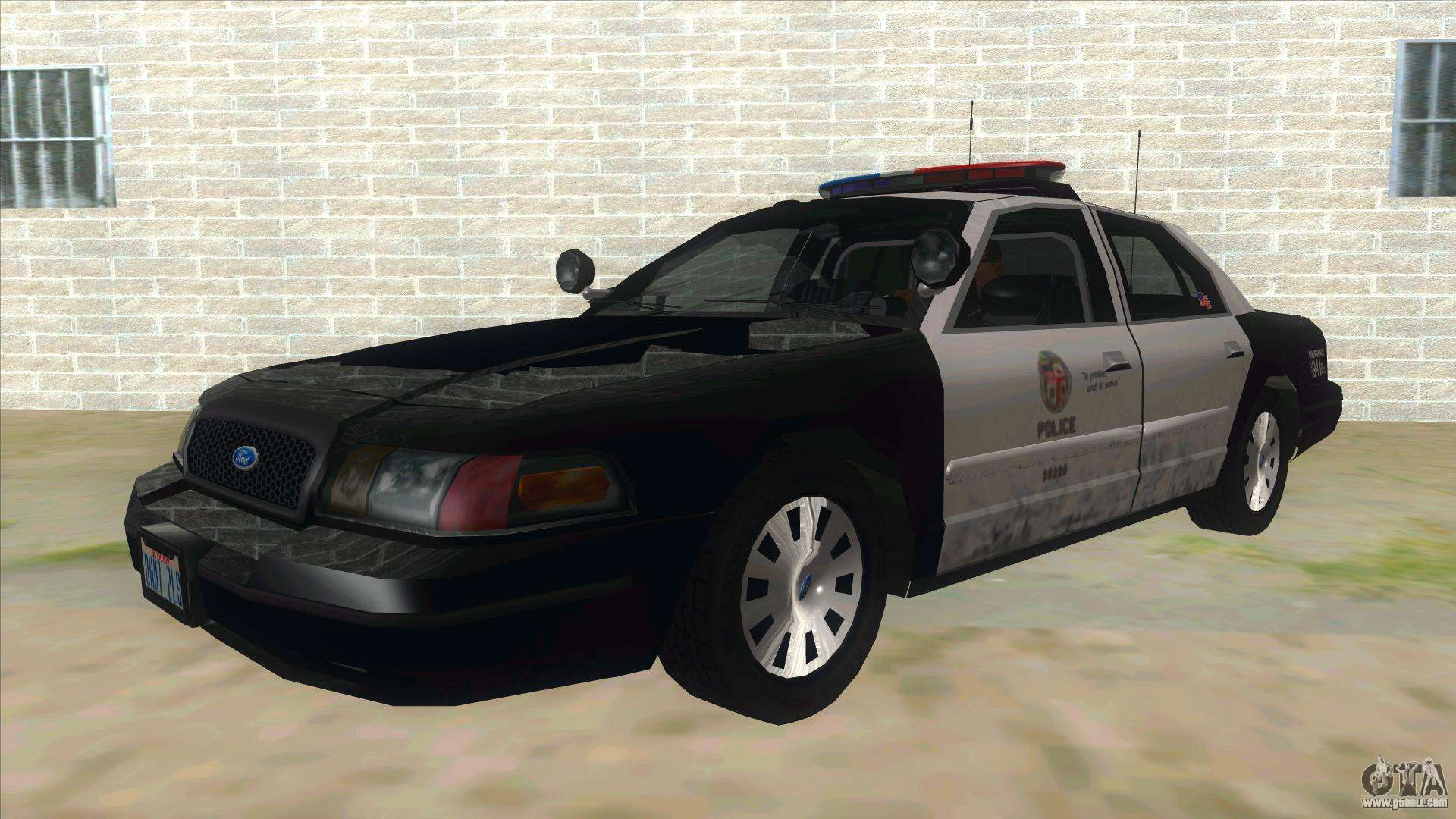 ford crown victoria police interceptor for gta san andreas. Black Bedroom Furniture Sets. Home Design Ideas