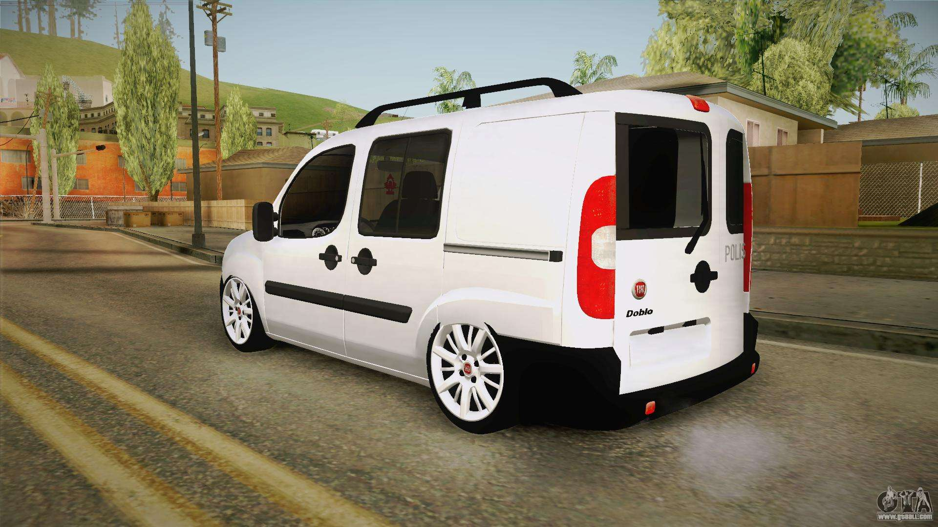 fiat doblo 2008 for gta san andreas. Black Bedroom Furniture Sets. Home Design Ideas