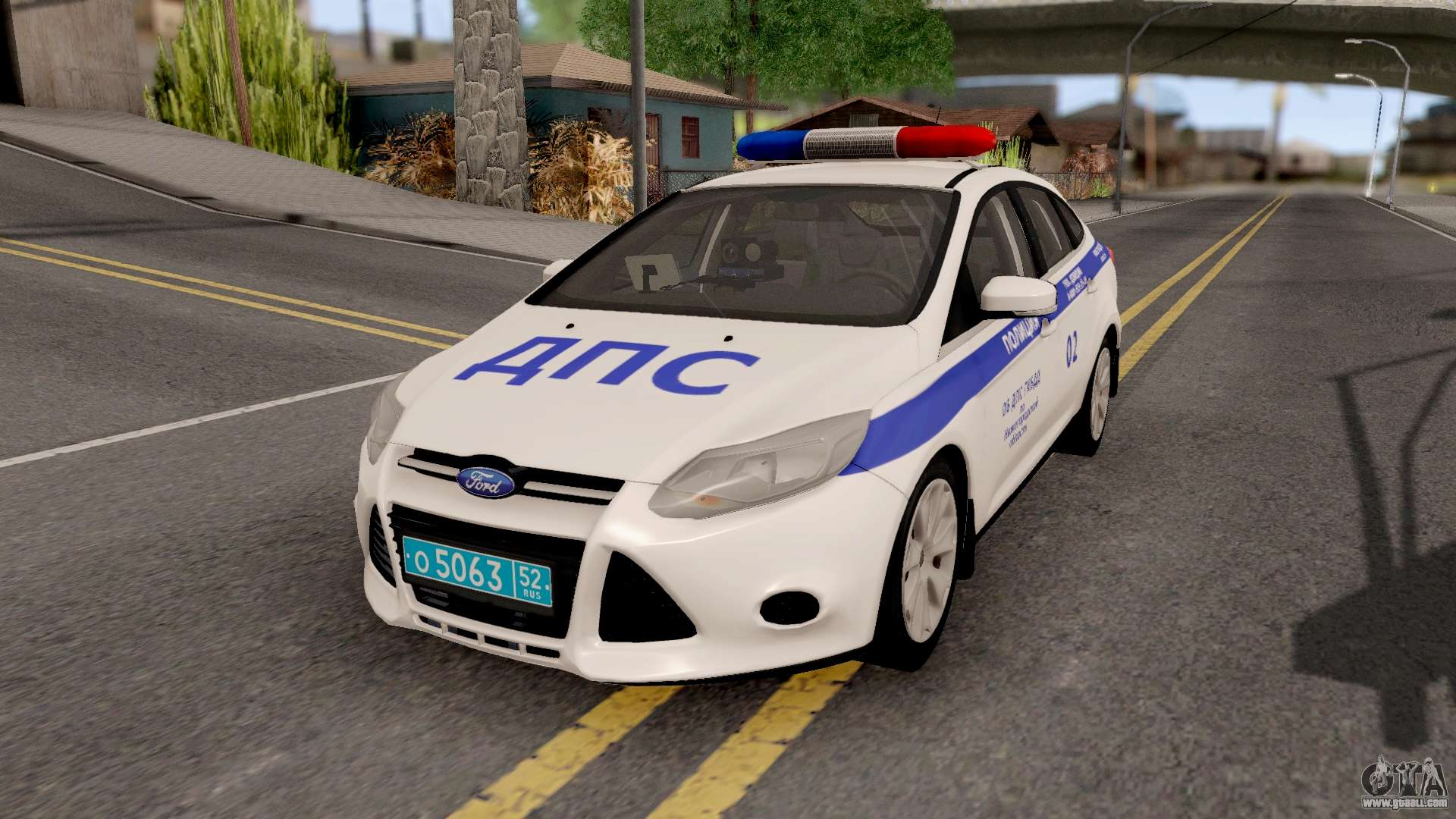 ford focus 3 russisan police for gta san andreas. Black Bedroom Furniture Sets. Home Design Ideas