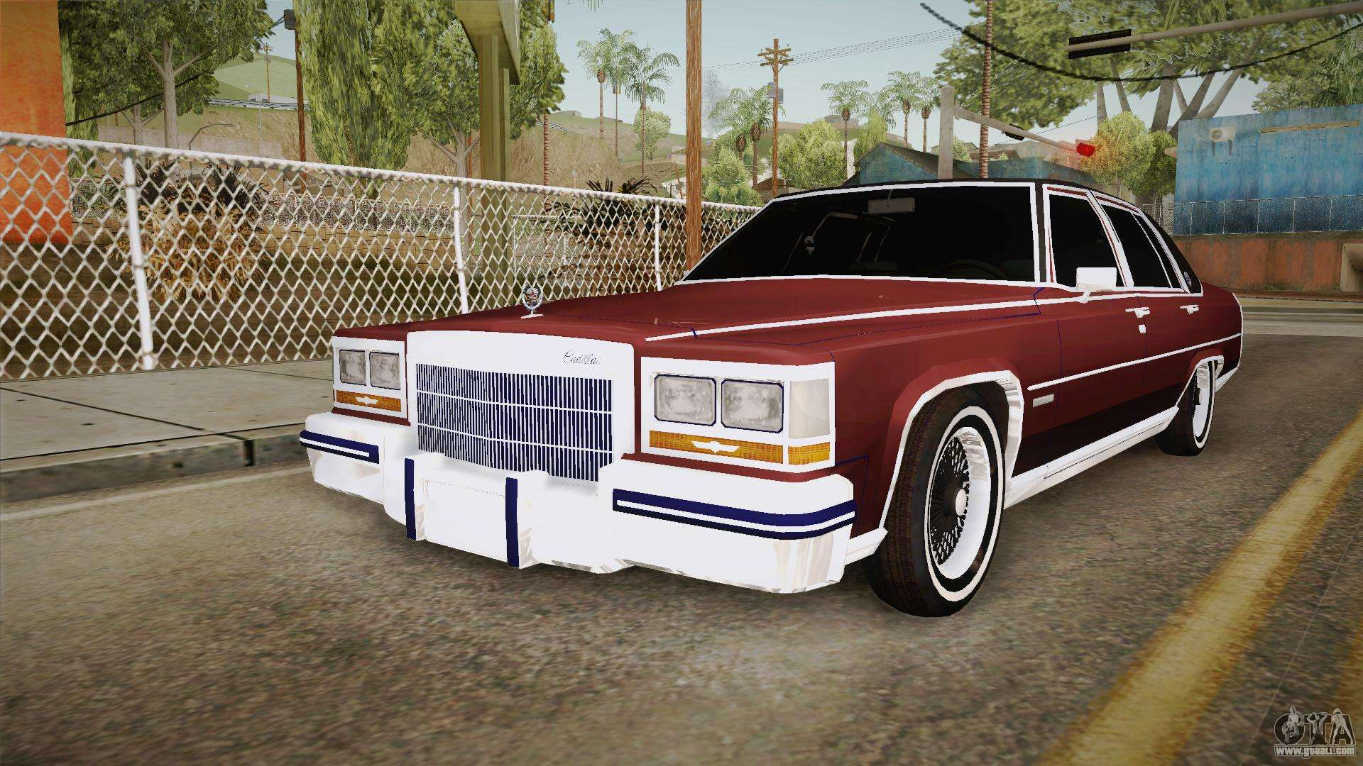 Cadillac Fleetwood Brougham Low Rider 1980 for GTA San Andreas