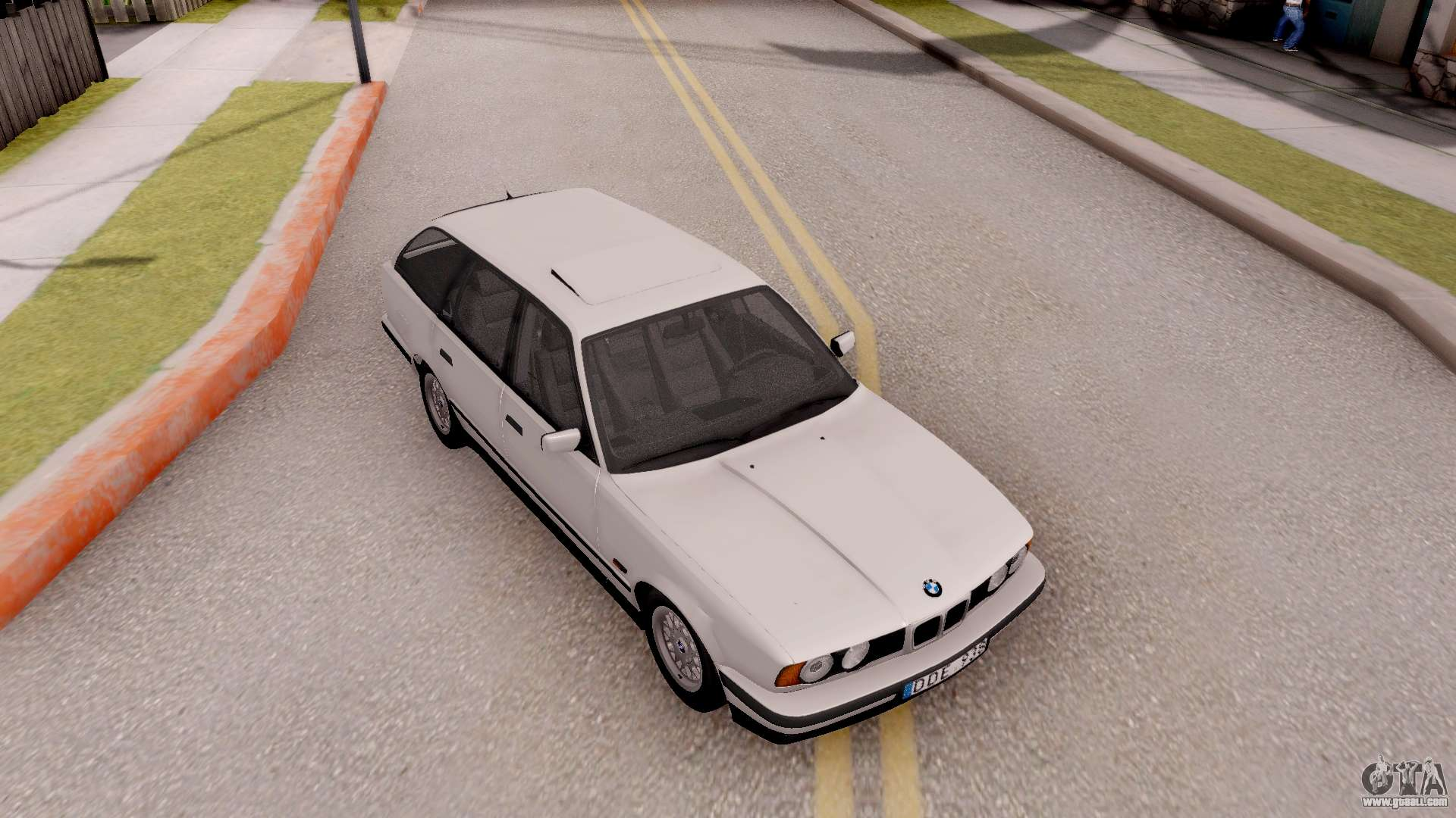 bmw 5 er e34 touring stock for gta san andreas. Black Bedroom Furniture Sets. Home Design Ideas
