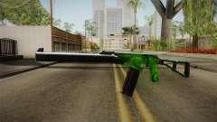 Green AK-47 for GTA San Andreas