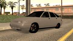 VAZ 2112 White Low for GTA San Andreas