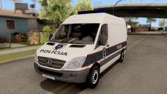 Mercedes-Benz Sprinter BIH Police Van for GTA San Andreas