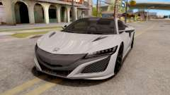 Honda NSX 2017 for GTA San Andreas