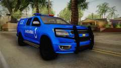Chevrolet S10 Turkish Gendarmerie CSI Unit for GTA San Andreas