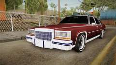 Cadillac Fleetwood Brougham Low Rider 1980 for GTA San Andreas