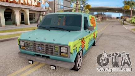 Ford Econoline 150 Scooby-Doo Mystery Machine for GTA San Andreas