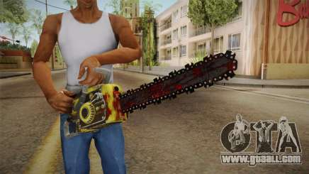 Leatherface Butcher Weapon 2 for GTA San Andreas