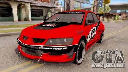 Mitsubishi Lancer IX APR for GTA San Andreas