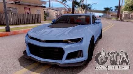 Chevrolet Camaro ZL1 2017 for GTA San Andreas