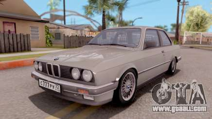 BMW E30 320i for GTA San Andreas